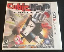 Cubic Ninja (Nintendo 3DS, 2011) NEW SEALED RARE OOP Shrink Wrap