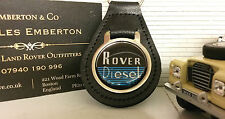 Land Rover Series 1 88 109 2 2a Diesel Period Quality Black Leather Key Ring Fob