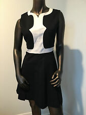 Dolce & Gabbana D&G auth Dress Black & White Dress Sz 42 (US 4-6) italy