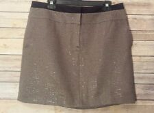 Ann Taylor LOFT Size 12 Mini Skirt Textured Glitter Career Work Cocktail