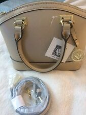Anne Klein New Recruits Small Satchel Gold Dust- Free Shipping