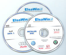 Audi elsawin workshop service manual repair 4.0  from 95 to 2012 multilanguage