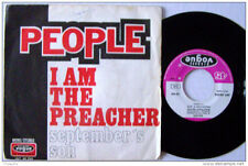 PEOPLE - I Am The Preacher / September's Son French 7' Pop 1970