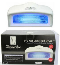 Thermal Spa Uv Gel Light Nail Dryer V2 45 Watts Accommodates two hands or feet