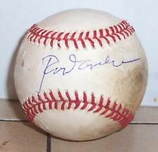 Rod Carew Autographed MLB Game USED Baseball Signed Twins Angels 3,000 hits HOF