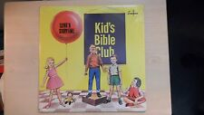 SEALED Sword Records KID'S BIBLE CLUB SONG' N STORYTIME LP 60s