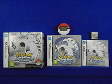 ds POKEMON SOUL SILVER Version + Pokewalker BOXED Soulsilver Lite DSi PAL UK
