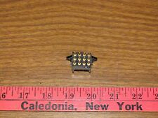 Burndy souriau SMS12ge6 Right Angle board mount Connector, 12 Way Pin