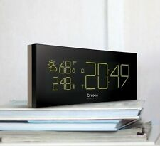 Oregon Scientific Prysma Clock with Weather Forecast and colour changing BAR292