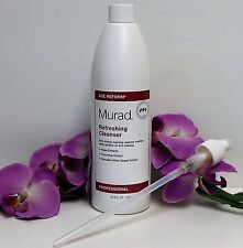 MURAD AGE REFORM REFRESHING CLEANSER 16.9oz or 500ml NEW WITH PUMP HUGE!!!