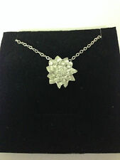 """MONET WATER LILLIES REFMWPPIN  Emblem on Silver Platinum Plated Necklace 18"""""""