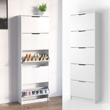 Zapatero volquete zapatero estantería zapatero mueble para 5 compartimientos