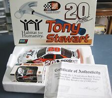 TONY STEWART HABITAT FOR HUMANITY SET 1:24 AND 1:64 SCALE 1999 REVELL 1 OF 4,008