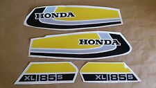 Autocollants / Stickers / Decals Honda XL185S - XLS 185 (78/80)
