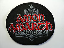 AMON AMARTH  EMBROIDERED PATCH
