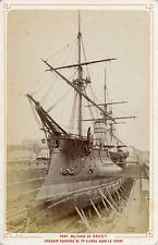 France, Brest, le Port Militaire, Croiseur Cuirassé de Première Classe dans la F