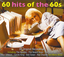 60 hits of the 60s : Beatles, Cliff Richard, Shadows, Bob Dylan, Dion ... (3 CD)