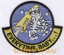 EVERYTIME BABY F14 TOMCAT VF PATCH US NAVY USS F6F-5 F8F-1 F4U F9F-8 F4D F4