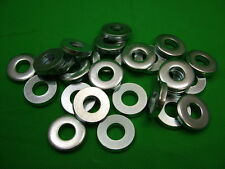 Extra thick flat spacer washers, steel, M12, 6mm thick, pack of 25, zinc plated