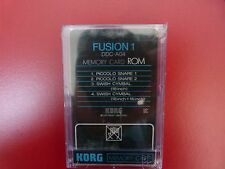 KORG DDC-A04 'FUSION 1' MEMORY CARD ROM FOR KORG DDD-1 & DDD-5 New Old Stock