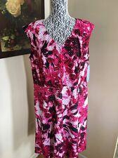 London Times Ladies Plus Size Dress Size 22W New