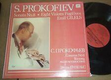 Emil Gilels PROKOFIEV Piano Sonata No.8,Visions Fugitives Melodiya C10-06129-30
