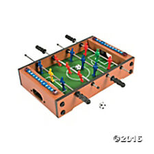 Wooden Mini Foosball Soccer Table Game - FREE U.S. Priority Ship NEW