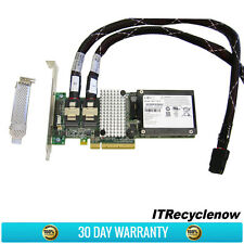 LSI 9260-8i SAS SATA 6Gb/s PCIe RAID LSI00202 Battery, Brackets, Cables