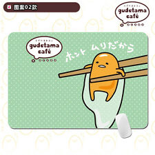 Gudetama Lazy Egg Mouse Pad Animation Mat Table Mat 30*25cm #A