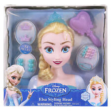 Frozen Elsa Accessories Styling Head Hairdressing Doll