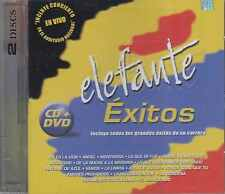 CD - Elefante NEW Exitos De Su Carrera DELUXE 1 CD & 1 DVD FAST SHIPPING !