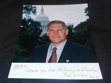 Texas US Congress Pete Sessions Signed 8x10 Vintage Autograph Photo JB6