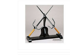 Nunchuck Escrima Kama Sai Karate Weapon Holder STAND Display
