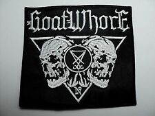GOATWHORE SKULLS  EMBROIDERED PATCH