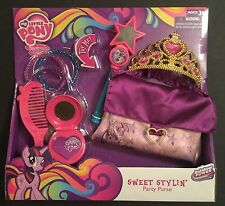 My Little Pony DRESS-UP Purse Tiara TALKING WAND Lights-up COMB ++  2014 Hasbro