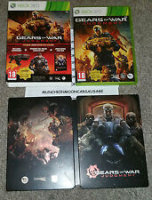 Gears of war judgement & limited edition steelbook PAL Microsoft Xbox 360 2013