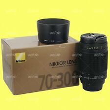 Genuine Nikon AF Zoom Nikkor 70-300mm f/4-5.6G Lens F4-5.6 G with Warranty
