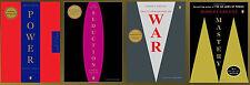 ROBERT GREENE LARGE TRADE Paperback Set of 4 POWER - SEDUCTION - WAR - MASTERY