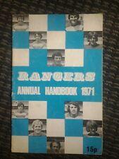Queens park rangers handbook 1971
