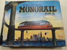 VINTAGE RARE BOXED BATTERY OPERATED MONORAIL TRAIN SET 1960S HONG KONG