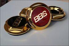 4x BBS RC RS RF GOLD Sechskant Deckel Muttern Felgen Schrauben Kappen BMW VW