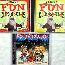 Fun Kooky Christmas 3 CD Lot Classics Time-Life Monkees Spike Betty Boop Yogi