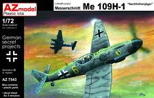 AZ Models 1/72 Kit 7543 Messerschmitt Bf-109H-1 nachthohenjager