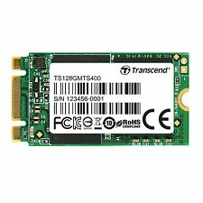 128GB Transcend M.2 NGFF 42mm SATA III 6Gbps SSD MTS400 MLC Flash 2242
