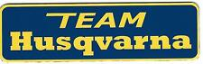 Vintage Team Husqvarna Sticker