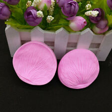 Peony Flower Petal Leaf Set Fondant Sugarcraft Cake Cutter Mould Embossing Decor