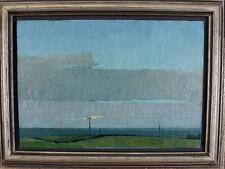 JEFF PICKERING Oil Painting IMPRESSIONIST LANDSCAPE 1978 GOLDEN SECTIONS