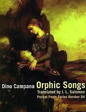 Orphic Songs City Lights Pocket Poets Series) Italian Edition)