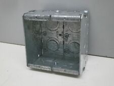 "(10) Steel City GW-225-G Galvanized Masonary Box 2-Gang 2-1/2"" Deep (RACO-691)"