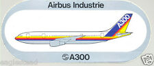 Baggage Label - Airbus - A300 - House - Rainbow Livery Fuselage Sticker (BL440)